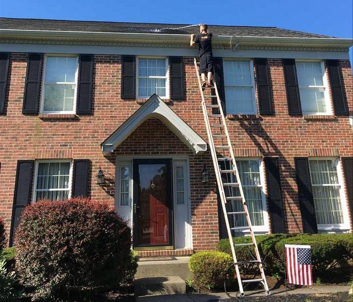 Gutter Cleaning Services Before
